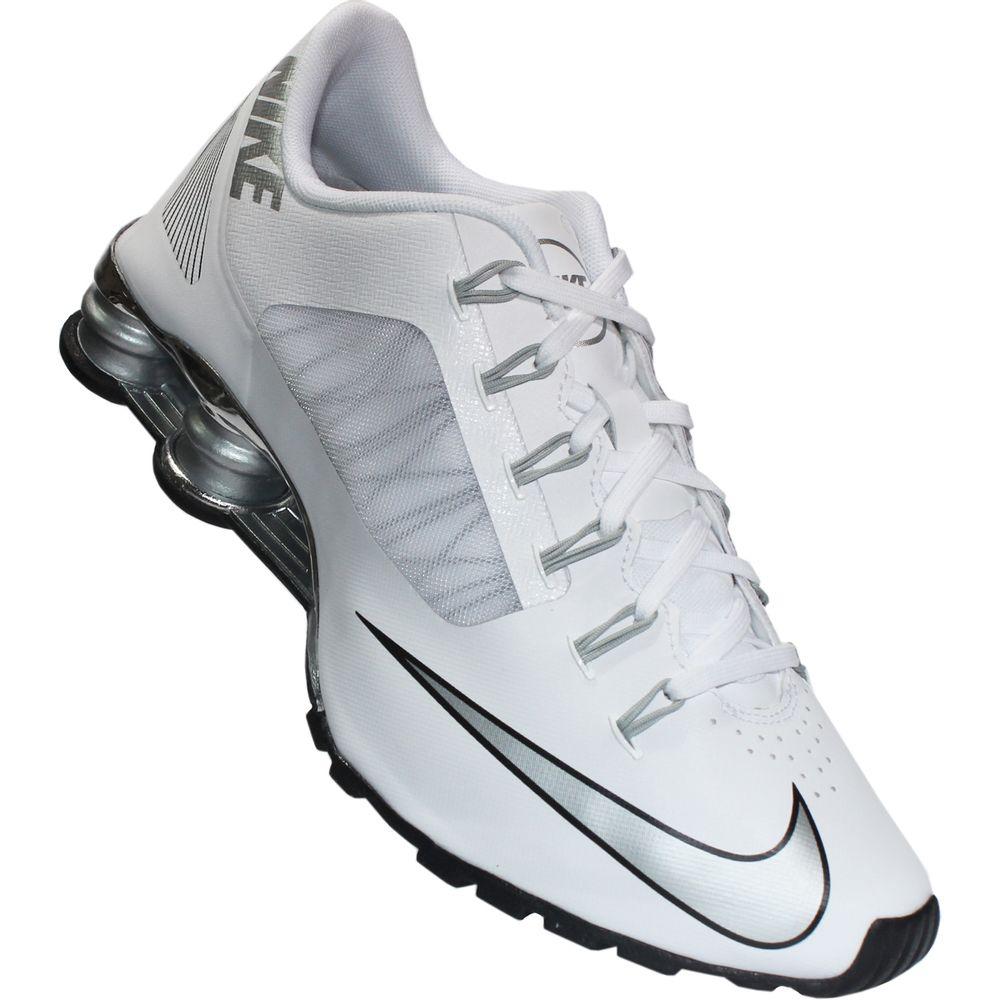 Nike Shox R4 Preto E Prata