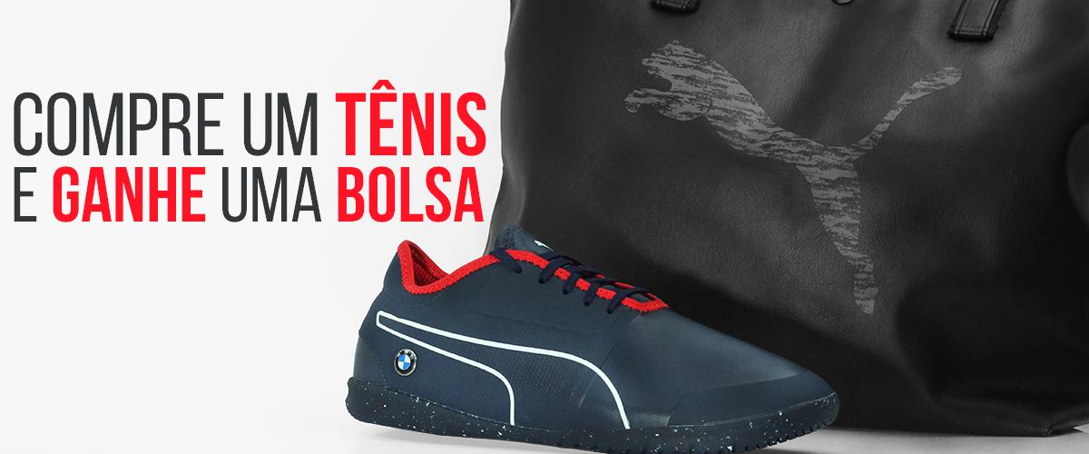Tênis Puma/Bolsa