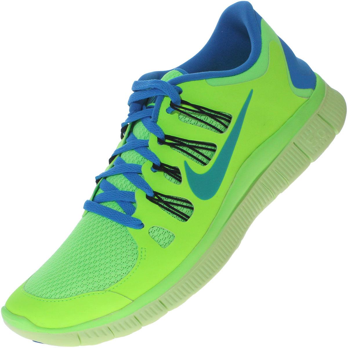Nike Free verde