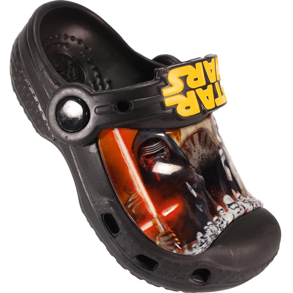 ba56d77f55 Sandália Infantil Crocs Star Wars - Rogers Tenis