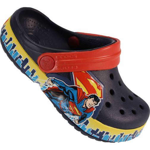8d5cc00b90 Sandália Infantil Crocs Crocbrand Superman