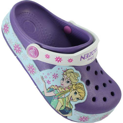 Sandália Infantil Crocs Frozen (Acende a Luz)