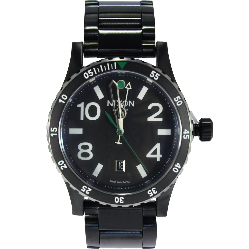 e508fe8e2de Relógio Nixon Diplomat SS - Rogers Tenis