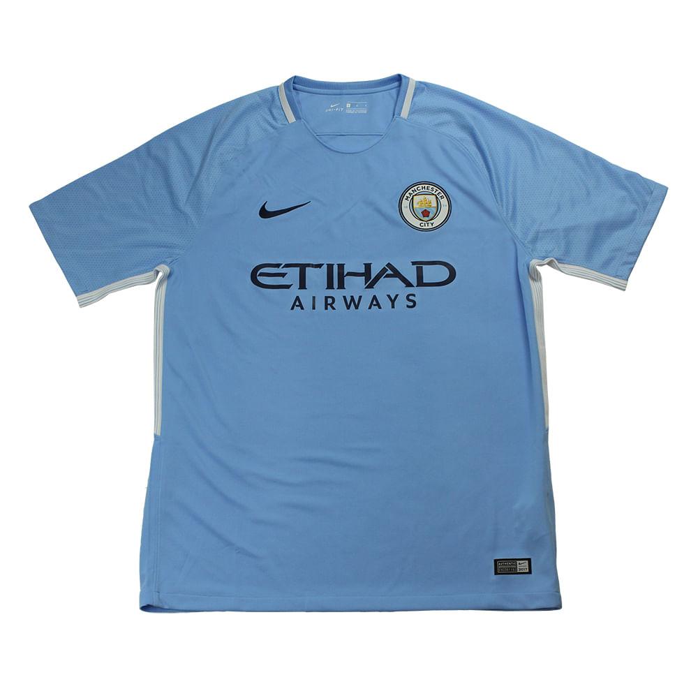 e5f70865ac Camiseta Nike Manchester City 1 - Rogers Tenis