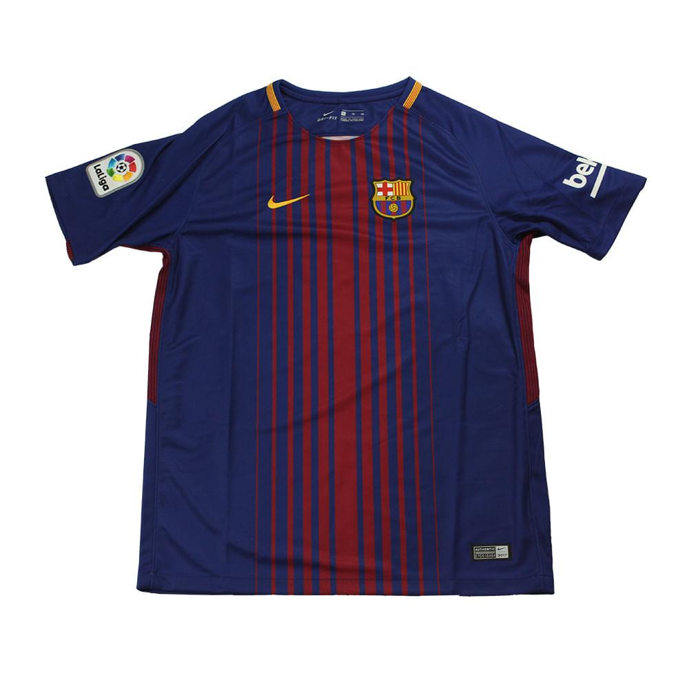 Camiseta Nike Barcelona Home - Rogers Tenis 266269ff3e37c