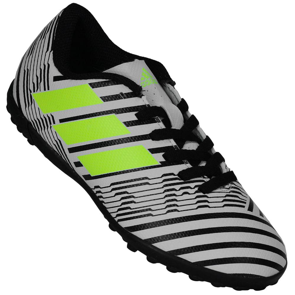 Chuteira Infantil Adidas Nemeziz 17.4 Society - Rogers Tenis 038b191b1e2ab