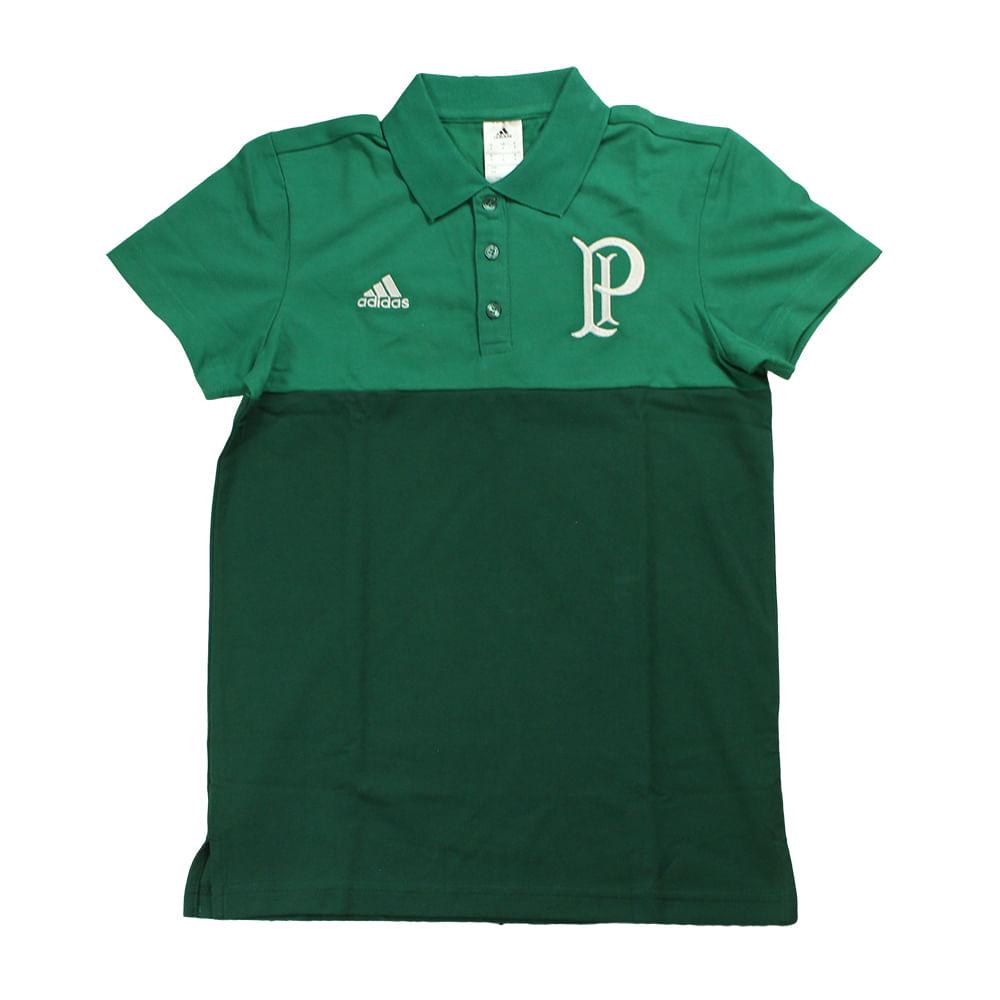 597ae8eecbde8 Polo Adidas Premium Palmeiras - Rogers Tenis