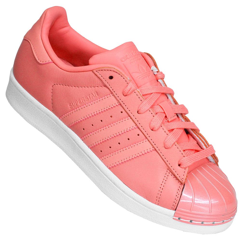 fda354e70 Tênis Feminino Adidas Superstar Metal Toe W - Rogers Tenis