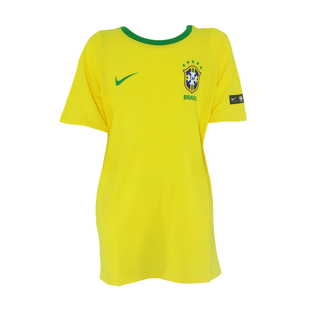 a06763405d Camisa Infantil Nike Brasil 2018 CBF - Rogers Tenis