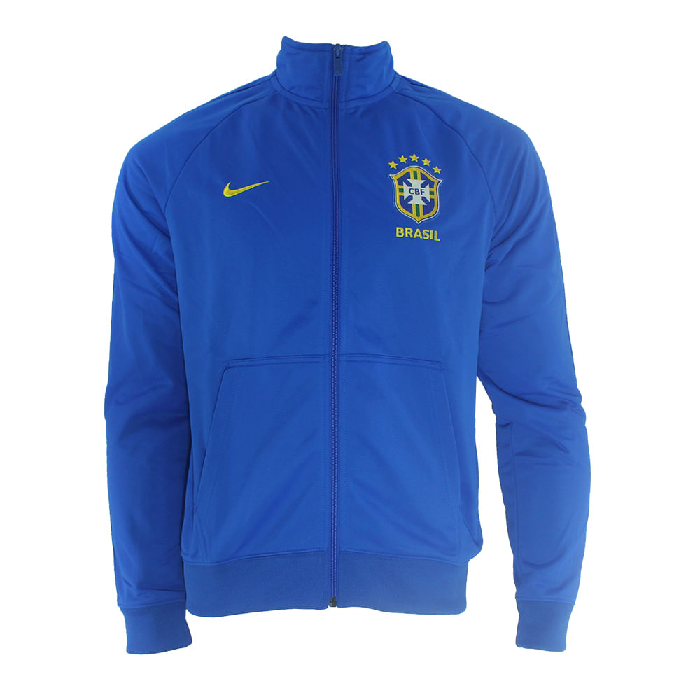 Jaqueta Nike CBF Brasil - Rogers Tenis 7cd3d5384c318