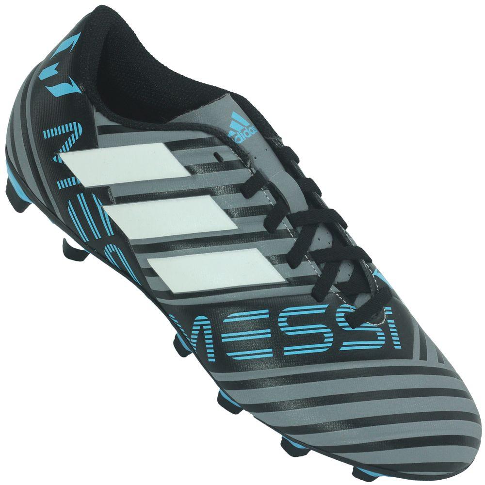 b41895393a Chuteira Adidas Nemeziz Messi 17.4 Campo - Rogers Tenis