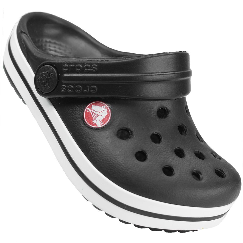 6f2c7c96ad Sandália Infantil Crocs Crocband Kids - Rogers Tenis