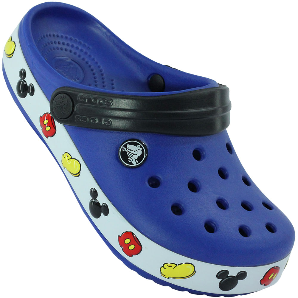 45bca070eb Sandália Infantil Crocs Crocband Mickey Clog - Rogers Tenis