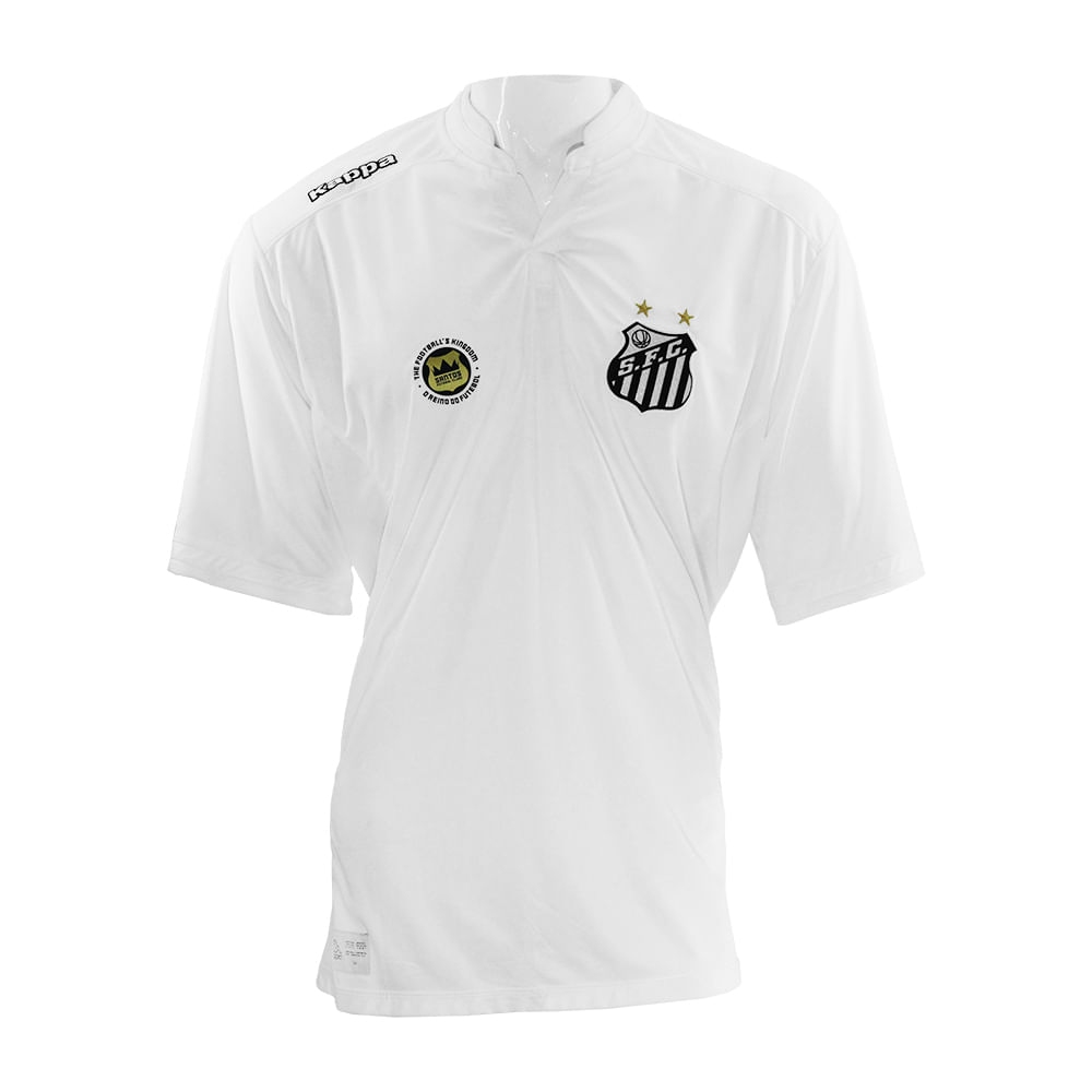 6a361c16dd Camiseta Kappa Santos Official 2016 - Rogers Tenis