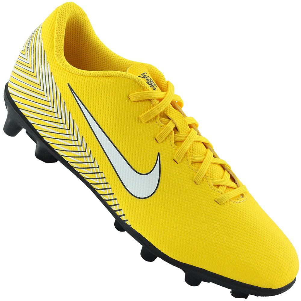 6c6d937338 Chuteira Nike Campo Vapor 12 Club NJR - Rogers Tenis