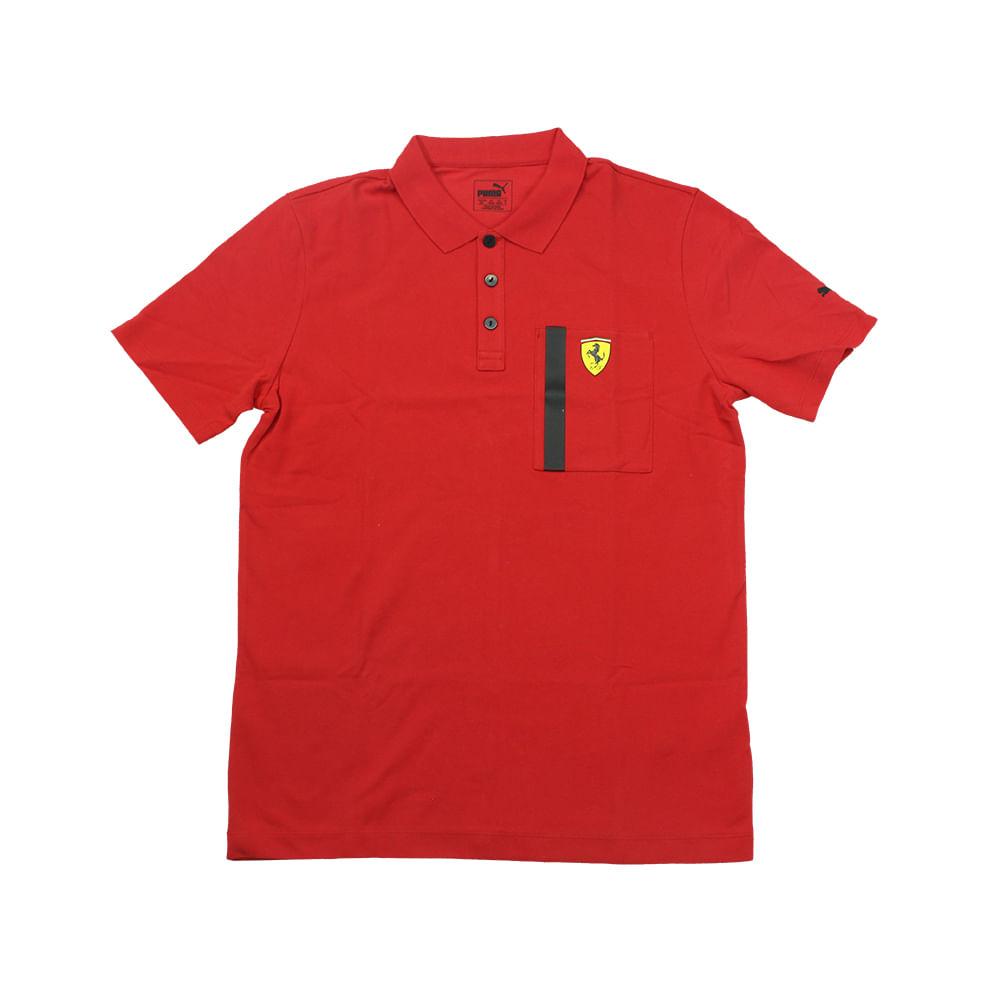 26b508f982 Polo Puma Ferrari SF - Rogers Tenis