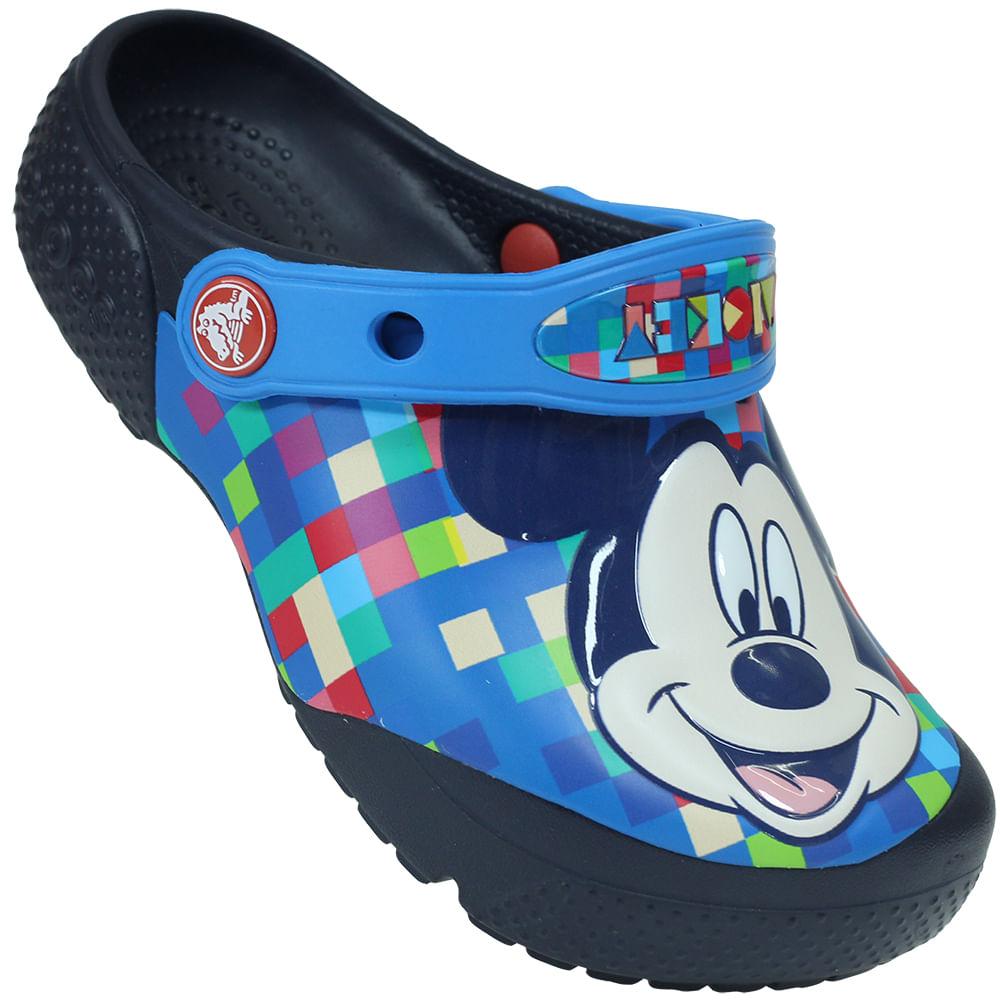 4e742f63ab Sandália Infantil Crocs Funlab Mickey - Rogers Tenis