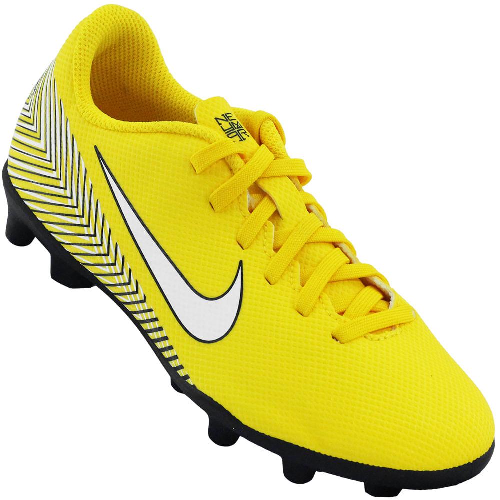 73d0ea252be2b Chuteira Infantil Nike JR Vapor 12 Club GS - Rogers Tenis