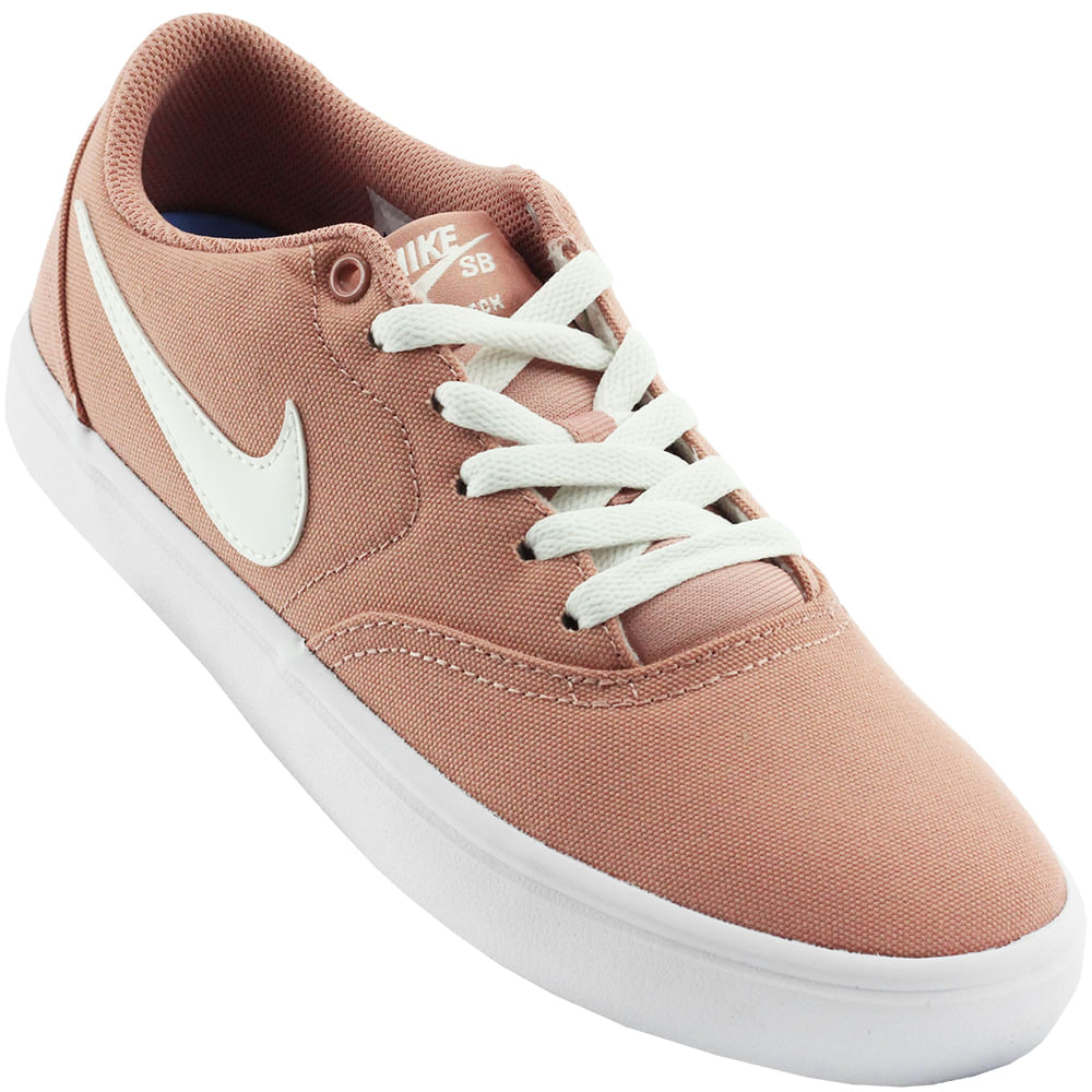 Tênis Feminina Nike SB Check Solar - Rogers Tenis 51aeccf79b653