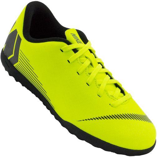 Chuteira Infantil Nike JR Vapor 12 Club GS TF - Rogers Tenis 338a8260e6d35