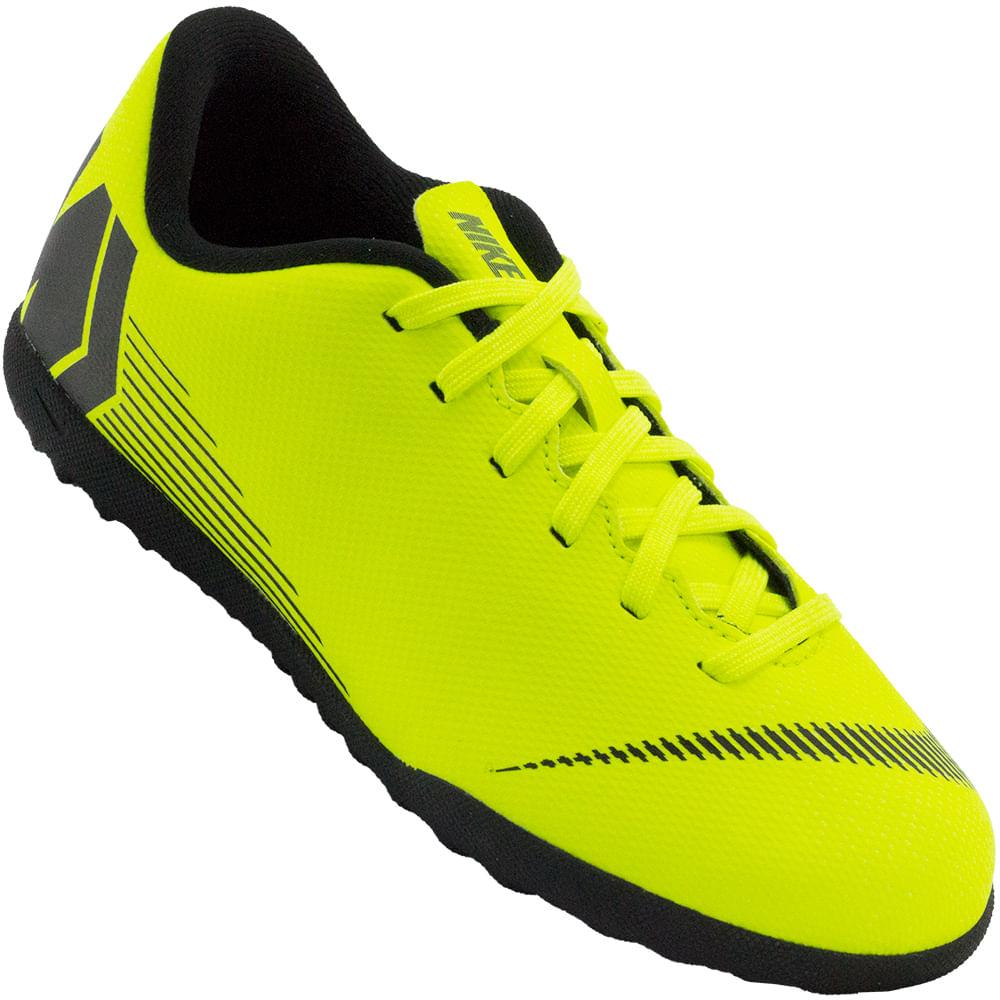 c7079edd9c Chuteira Infantil Nike JR Vapor 12 Club GS TF - Rogers Tenis