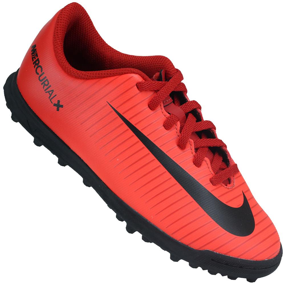 a416a8e529 Chuteira Infantil Nike Mercurialx Vortex 3 TF - Rogers Tenis