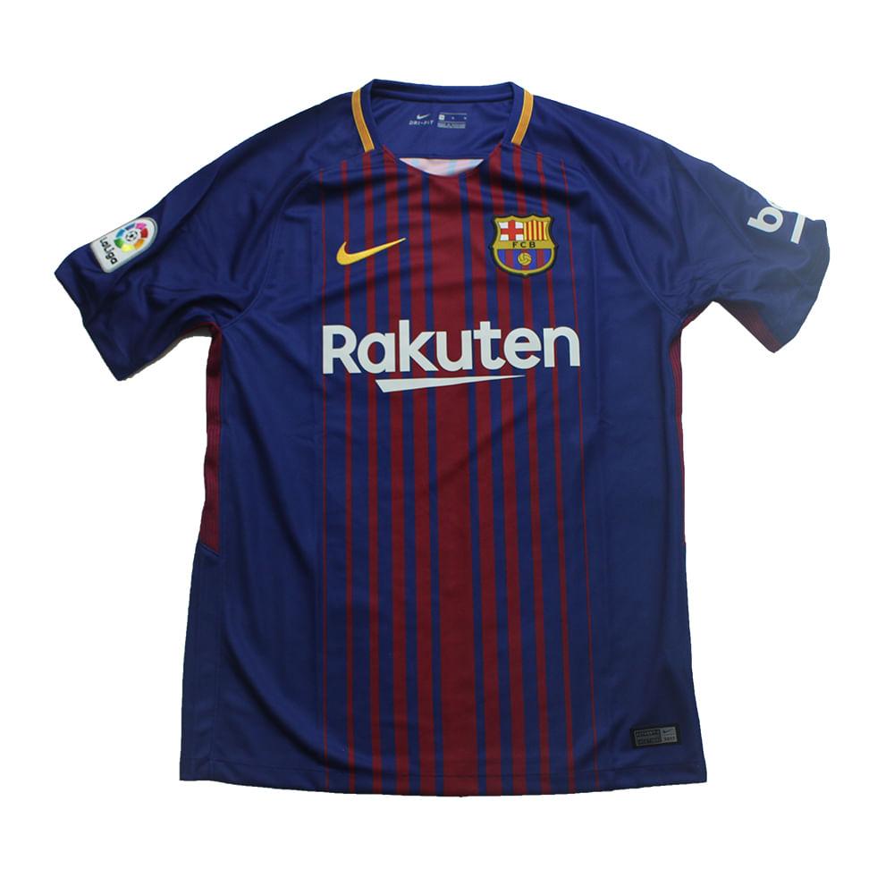 8164ae75a6 Camiseta Nike Barcelona 1 Torcedor - Rogers Tenis