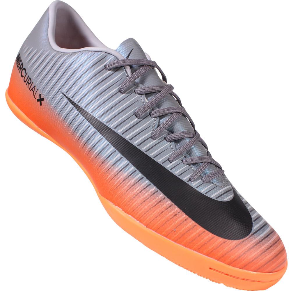 30f6c83269e92 Chuteira Nike Mercurial Victory 6 IC CR7 - Rogers Tenis