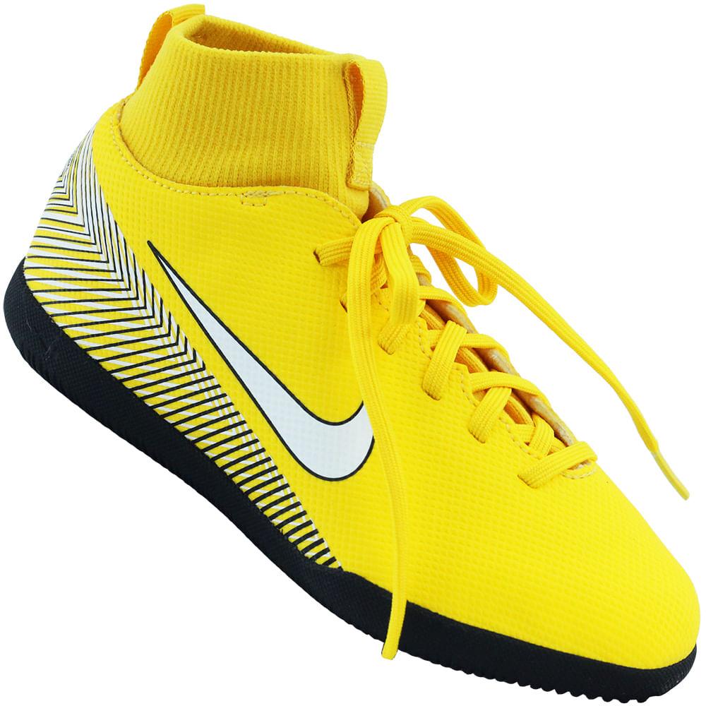 Chuteira Infantil Nike JR Superfly 6 Club NJR IC - Rogers Tenis 6831ec41d9391