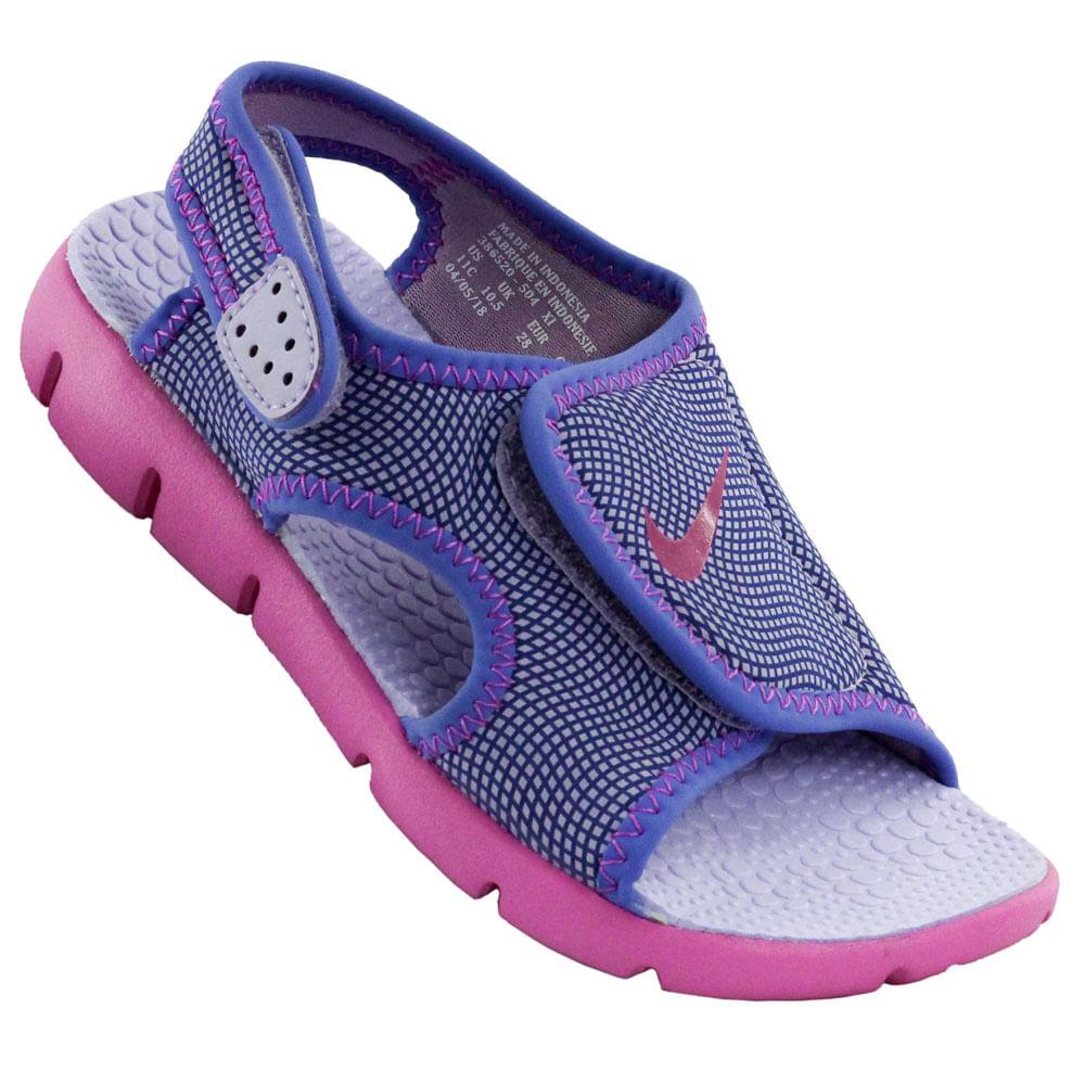 aaf843db4 Sandália Infantil Nike Sunray Adjust 4 - Rogers Tenis