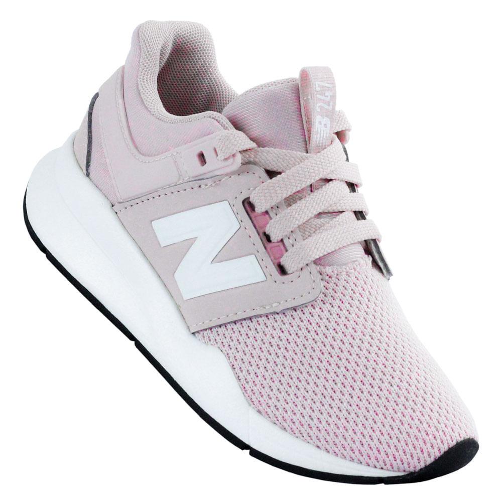 new balance 247 feminino rosa