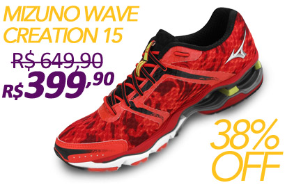 Mizuno Wave Creation 15 Masculino