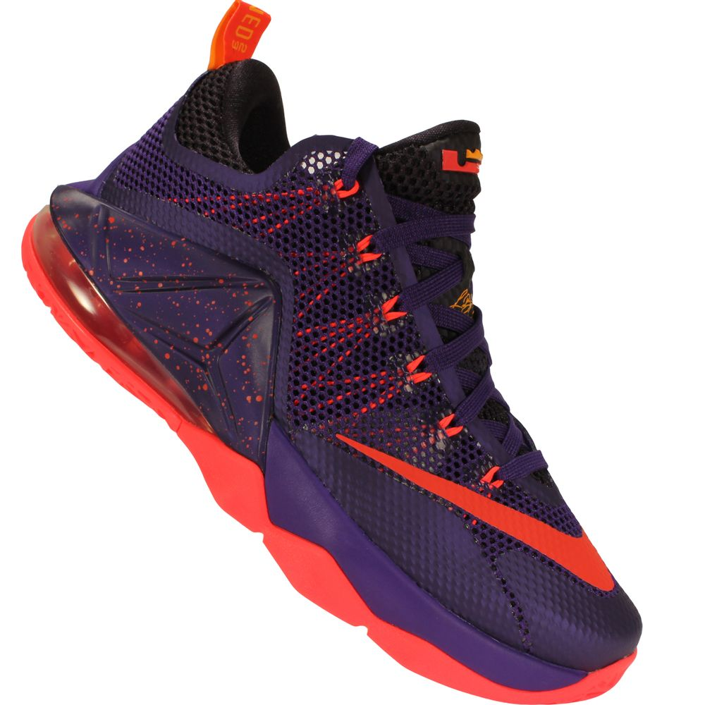 5606daf1bf017 Tênis Nike Lebron XII Low - Rogers Tenis
